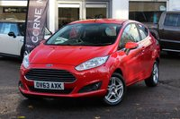 USED 2013 63 FORD FIESTA 1.0 ZETEC 3d 79 BHP £0 ROAD TAX * FINANCE & PX AVAILABLE * IDEAL 1ST CAR *