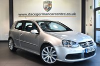 """USED 2009 58 VOLKSWAGEN GOLF 3.2 R32 3DR 250 BHP full service history Finished in a stunning reflex metallic silver styled with 18"""" alloys. Upon opening the drivers door you are presented with full black leather interior, full service history, bluetooth, heated sport seats , xenon lights, heated mirrors, air condtioning"""