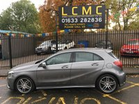 "USED 2017 67 MERCEDES-BENZ A-CLASS 2.1 A 200 D AMG LINE 5d 134 BHP STUNNING MOUNTAIN GREY METALLIC WITH HALF LEATHER/CLOTH UPHOLSTERY WITH RED STITCHING. ONE OWNER WITH VERY LOW MILEAGE. MERCEDES WARRANTY TILL 29th SEPT 2020. 18"" DIAMOND CUT ALLOY WHEELS. APPLE CAR PLAY. AIR CONDITIONING. ELECTRIC WINDOWS. REMOTE CENTRAL LOCKING. THE FINANCE EXPERTS PLEASE CALL US. PLEASE GOTO www.lowcostmotorcompany.co.uk TO VIEW OVER 120 CARS IN STOCK."