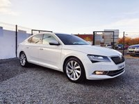 USED 2016 66 SKODA SUPERB 2.0 SE L EXECUTIVE TDI DSG 5d AUTO 148 BHP BEAUTIFUL CANDY WHITE EXECUTIVE MODEL