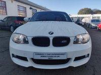 USED 2011 11 BMW 1 SERIES 2.0 120i M Sport 2dr LOW MILES+FSH+ALPINE WHITE!!!!