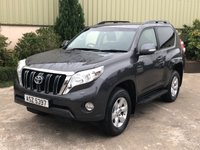 USED 2017 TOYOTA LAND CRUISER 2.8 D-4D ACTIVE 3d 175 BHP REVERSE CAMERA, 5 SEATS
