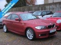 2010 BMW 1 SERIES 2.0 120D M SPORT 2d COUPE  AUTO 175 BHP £4995.00