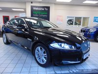 "USED 2013 13 JAGUAR XF 2.2 D LUXURY 4d 163 BHP FULL SERVICE HISTORY + LONG MOT + SATELLITE NAVIGATION + BLUETOOTH + FULL LEATHER TRIM + HEATED SEATS + 17"" ALLOYS + CRUISE CONTROL + CLIMATE CONTROL + REAR PARKING AIDS + 7"" COLOUR TOUCH SCREEN"