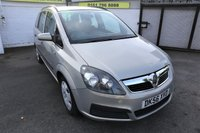 USED 2006 56 VAUXHALL ZAFIRA 1.6 LIFE 16V 5d 105 BHP * HPI CLEAR - 7 SEAT - 7 SEAT