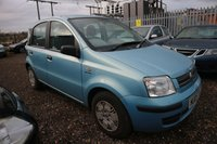 USED 2005 05 FIAT PANDA 1.2 DYNAMIC 5d 59 BHP *PX CLEARANCE - NOT INSPECTED - NO WARRANTY - NOT AVAILABLE ON FINANCE - NO PX TAKEN*