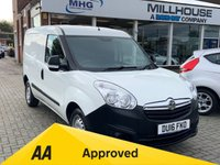 USED 2016 16 VAUXHALL COMBO LIFE 1.2 2000 L1H1 CDTI 90 BHP Doblo Connect Partner Type Van Low Mileage Service History  Vauxhall Combo 1.3 Connect Partner Doblo Type Van Low Mileage Service History Elec Windows Power Steering Remote Locking 12 Months FREE AA Breakdown Cover