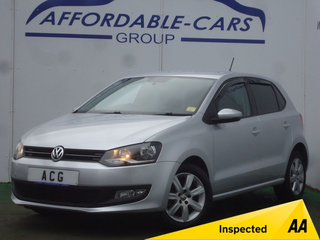 USED 2012 12 VOLKSWAGEN POLO 1.2 60 Match 5dr