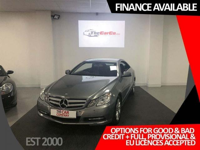 2012 62 MERCEDES-BENZ E-CLASS 2.1 E220 CDI BlueEFFICIENCY SE 2dr