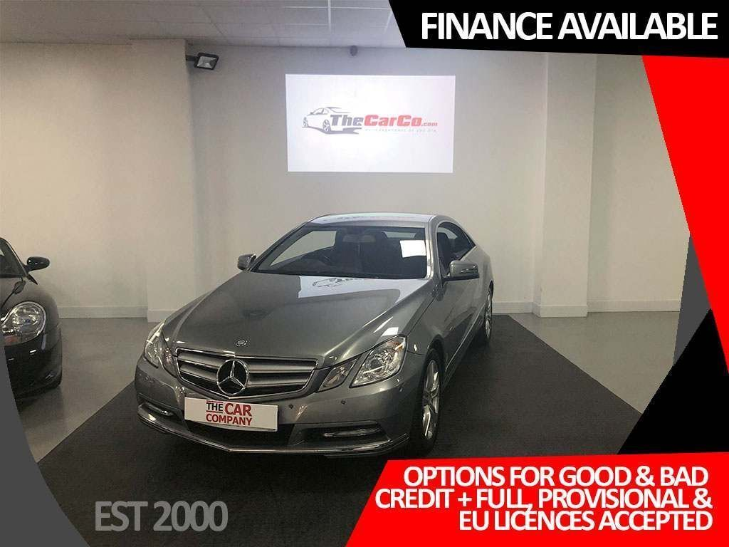 USED 2012 62 MERCEDES-BENZ E-CLASS 2.1 E220 CDI BlueEFFICIENCY SE 2dr * FINANCE AVAILABLE *