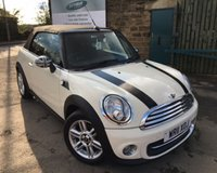 USED 2011 11 MINI CONVERTIBLE 1.6 COOPER 2d 122 BHP Full Service History