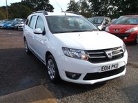 USED 2014 14 DACIA LOGAN MCV 0.9 LAUREATE TCE 5d 90 BHP Lovely Driving Logan, 2 Former Keepers! Economical and Reliable!