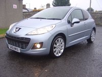 USED 2011 61 PEUGEOT 207 1.6 ALLURE SPORT 3d 120 BHP EXCELLENT VALUE