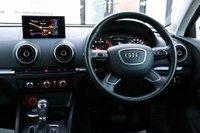 USED 2016 16 AUDI A3 2.0 TDI SE Sportback S Tronic 5dr 1 OWNER*SATNAV*PARKING AID