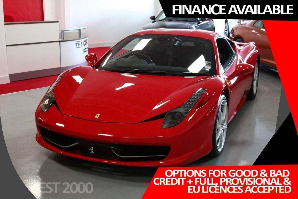 USED 2012 12 FERRARI 458 4.5 Italia Auto Seq 2dr 1 owner * just 2,700 miles