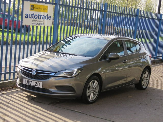 USED 2017 17 VAUXHALL ASTRA 1.6 TECH LINE CDTI ECOFLEX S/S 5dr Sat nav Cruise DAB Alloys Finance arranged Part exchange available Open 7 days