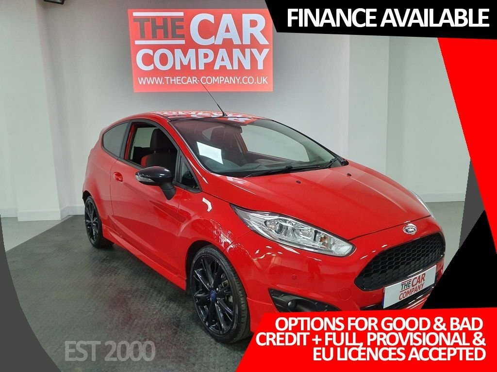 USED 2016 16 FORD FIESTA 1.0 T EcoBoost Zetec S Red Edition (s/s) 3dr * DAB Digital Radio * Bluetooth * Parking Sensors * Sold with Fresh MOT *
