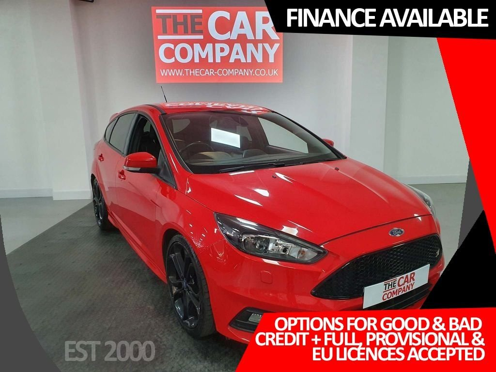 USED 2016 65 FORD FOCUS 2.0 TDCi ST-3 (s/s) 5dr * NAV * DAB * CRUISE * HEATED RECARO LEATHER *