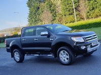USED 2015 15 FORD RANGER 2.2 LIMITED 4X4 DCB TDCI 4d 148 BHP