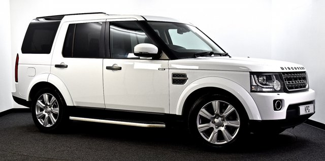 USED 2014 14 LAND ROVER DISCOVERY 4 3.0 SD V6 XS 4X4 5dr Auto [8] Reverse Cam, HDD Nav, Leather