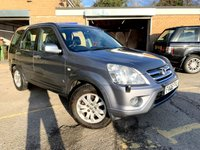 USED 2005 05 HONDA CR-V 2.0 I-VTEC EXECUTIVE 5d FULL BLACK LEATHER, PX TO CLEAR DEALER PX TO CLEAR SEPT 2020 MOT, FULL LEATHER