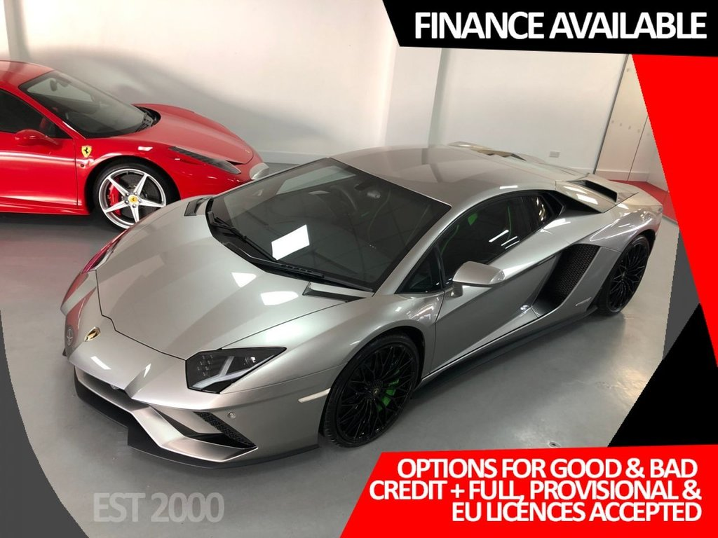 USED 2018 18 LAMBORGHINI AVENTADOR  6.5 V12 S 4WD 2dr * BRAND NEW * VAT qualifying *