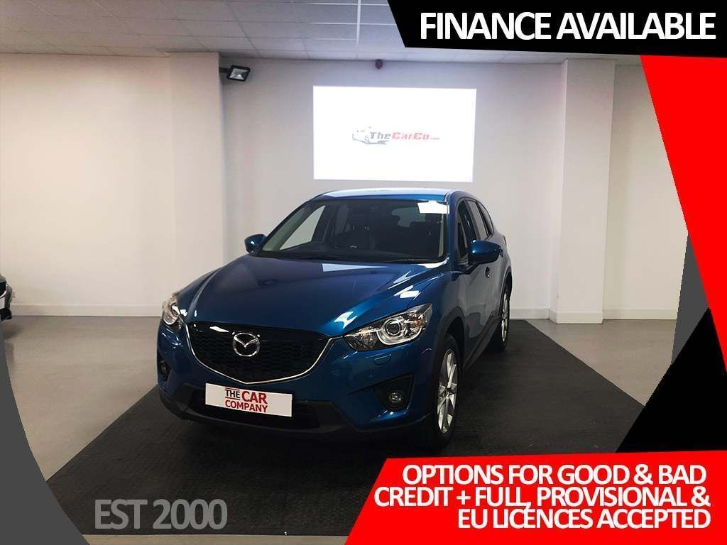 USED 2013 62 MAZDA CX-5 2.0 Sport 5dr * SAT NAV * LEATHER * BOSE * CRUISE CONTROL * REVERSE CAMERA *