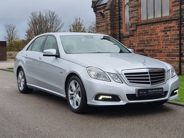 2010 10 MERCEDES-BENZ E CLASS 3.0 E350 CDI BLUEEFFICIENCY AVANTGARDE 4d 231 BHP