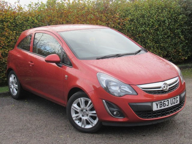 USED 2013 63 VAUXHALL CORSA 1.2 ENERGY AC 3d  * IDEAL FIRST CAR * LOW MILES *