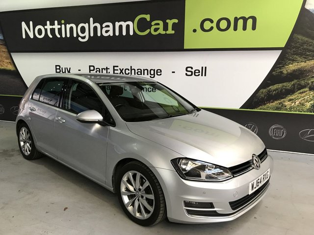 USED 2014 64 VOLKSWAGEN GOLF 2.0 GT TDI BLUEMOTION TECHNOLOGY 5d 148 BHP
