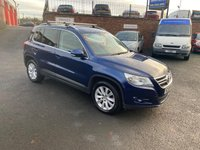 2010 VOLKSWAGEN TIGUAN 2.0 SE TDI BLUEMOTION TECHNOLOGY 5d 140 BHP £5950.00