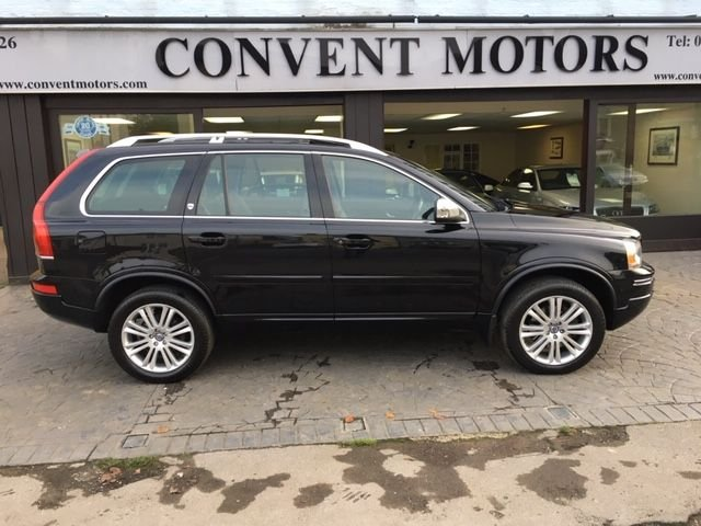 USED 2014 14 VOLVO XC90 2.4 D5 EXECUTIVE AWD 5d AUTO 200 BHP