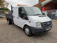 2010 FORD TRANSIT 350 Double Cab Tipper *REAR STORAGE*ONLY 60000 MILES* £SOLD