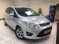 USED 2013 13 FORD C-MAX 1.6 ZETEC 5d 104 BHP MULTIPLE AIRBAGS / ISOFIX / QUICKCLEAR SCREEN / AIR CONDITIONING / SERVICE HISTORY