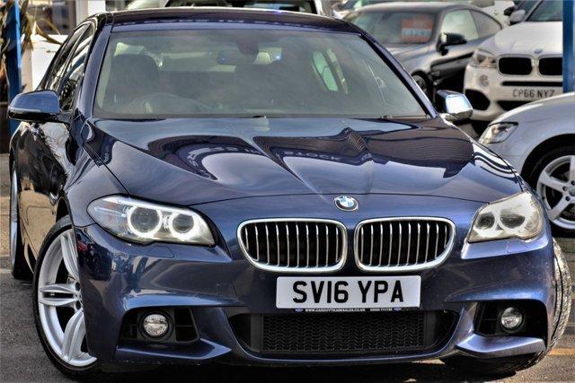 2016 16 BMW 5 SERIES 2.0 525D M SPORT 4d AUTO 215 BHP