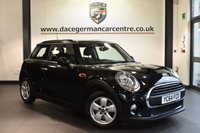 "USED 2015 64 MINI HATCH ONE 1.2 ONE 3DR 101 BHP superb service history Finished in a stunning midnight metallic black styled with 15"" alloys. Upon opening the drivers door you are presented with cloth upholstery, superb service history, bluetooth, dab radio, cruise control, Multifunction steering wheel, Fog lights, Radio MINI Visual Boost, MINI Connected"