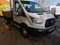 2015 FORD TRANSIT 350 L2 MWB Single Cab Steel Tipper 125 PS *ONLY 47000 MILES* £12995.00
