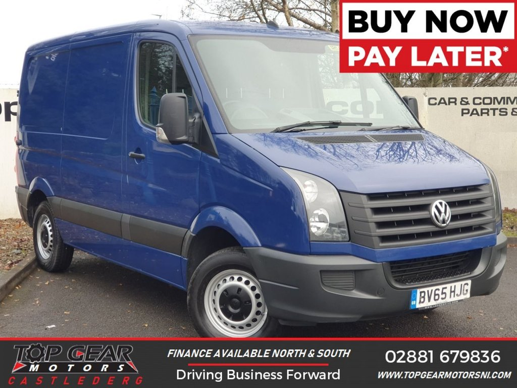 USED 2015 65 VOLKSWAGEN CRAFTER CR30 TDI SHORT WHEELBASE LOW ROOF 2.0 110 BHP **OVER 90 VANS IN STOCK** FULL SERVICE HISTORY, ONE OWNER, WARRANTED MILES.