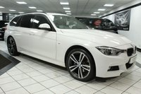USED 2015 65 BMW 3 SERIES 320D XDRIVE M SPORT TOURING AUTO 190 BHP FACELIFT PRO NAV H/KARDON LED