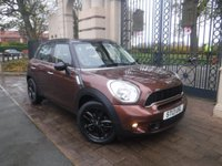 USED 2013 13 MINI COUNTRYMAN 2.0 COOPER SD 5d 141 BHP *FINANCE ARRANGED*PART EXCHANGE WELCOME*2 KEYS*BTOOTH*STOP/START*DAB*SPORTS MODE*SERVICE HISTORY*USB*AUX