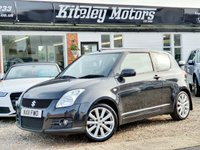 USED 2011 11 SUZUKI SWIFT 1.6 SPORT 3d 125 BHP