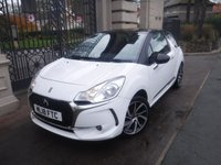 USED 2018 18 DS DS 3 1.2 PURETECH CONNECTED CHIC 3d 80 BHP *FINANCE ARRANGED*PART EXCHANGE WELCOME*CRUISE*NAV*BTOOTH*MIRROR LINK*APPLE CAR PLAY*2KEYS*CLIMATE*AIRCON
