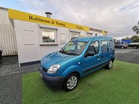 2008 RENAULT KANGOO 1.1 AUTHENTIQUE 16V 5d 75 BHP,**wheelchair converted** **4 seats** £3495.00