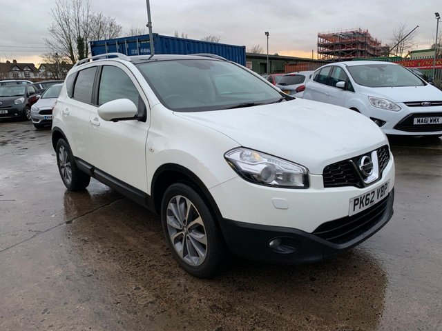 USED 2012 62 NISSAN QASHQAI 1.6 TEKNA 5d 117 BHP ONE OWNER FROM NEW