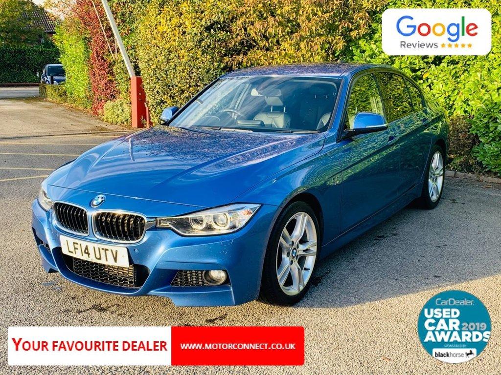 USED 2014 14 BMW 3 SERIES 3.0 330D M SPORT 4d AUTO 255 BHP