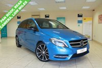 USED 2014 14 MERCEDES-BENZ B CLASS 2.1 B220 CDI SPORT 5d AUTO 170 BHP GREY LEATHER, NAVIBOX PREINSTALLATION, ELECTRIC PANORAMIC GLASS SLIDING ROOF, REAR VIEW CAMERA, SEAT COMFORT PACKAGE, ACTIVE PARK ASSIST, RAIN SENSORS, CRUISE CONTROL, ELECTRIC FOLDING MIRRORS, MIRROR PACKAGE, NIGHT PACKAGE, LUMBAR SUPPORT, LOW MILEAGE