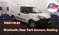 2016 FIAT DOBLO 1.3 16V SX  MULTIJET 90 BHP, EURO 6, Low Mileage (34597), Air Con, Bluetooth Connectivity, Rear Parking Sensors, Electric Windows & Mirrors and more £5680.00