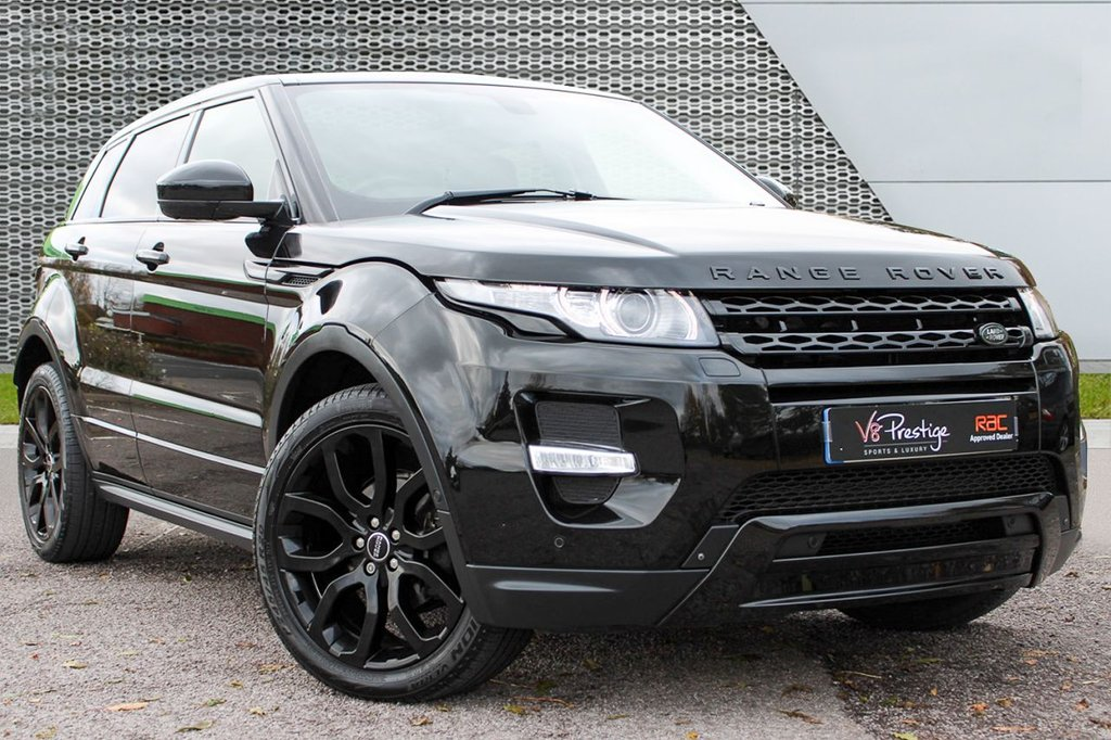 USED 2015 15 LAND ROVER RANGE ROVER EVOQUE 2.2 SD4 DYNAMIC LUX 5d AUTO 190 BHP *LUX/BLACK PACK/PAN ROOF/TV*