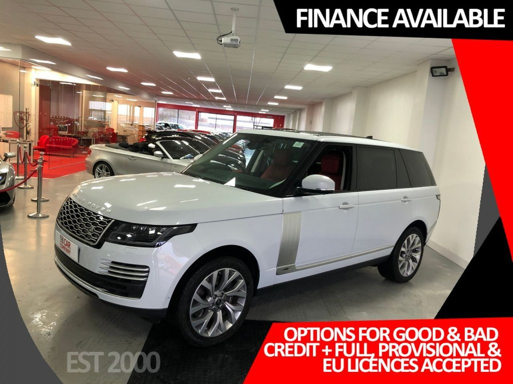 USED 2019 19 LAND ROVER RANGE ROVER 2.0 P400e 12.4kWh Autobiography Auto 4WD (s/s) 5dr LWB * manufacturer warranty * massive spec * cameras * nav * panoramic roof * heated & electrically operated leather *