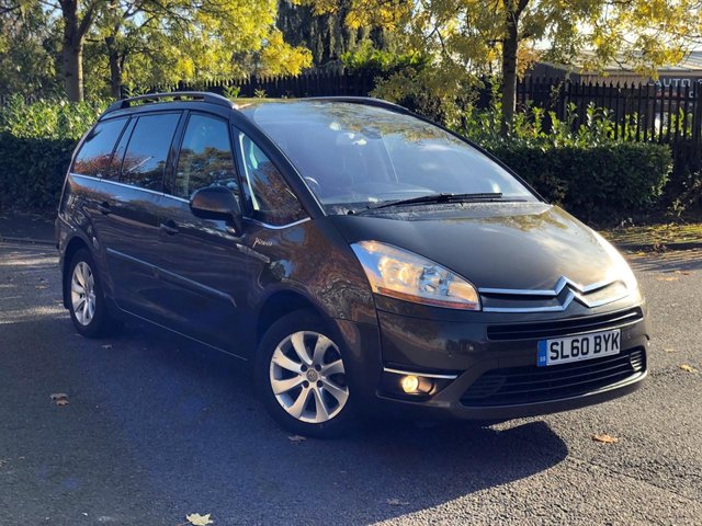 2010 60 CITROEN C4 GRAND PICASSO 1.6 EXCLUSIVE HDI EGS 5d 107 BHP